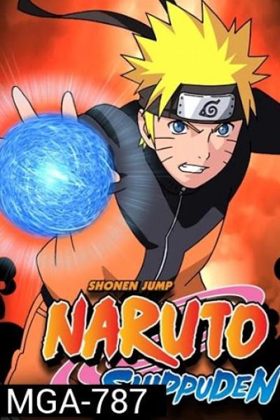 Naruto Shippuden นารูโตะ นินจาวายุสลาตัน หรือนารูโตะตอนโต ปีที่1-25 ตอนที่ 1-500 จบพากย์ไทย