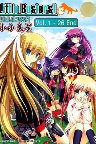 Little Busters ลิตเติลบัสเตอส์ พวกพ้อง มิตรภาพ และน้ำตา ภาค1 ตอนที่ 1-26+OVA จบพากย์ไทย