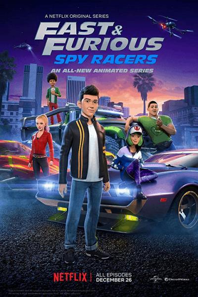 Fast & Furious Spy Racers เร็ว…แรง ทะลุนรก ซิ่งสยบโลก Season2 ตอนที่ 1-8 จบพากย์ไทย